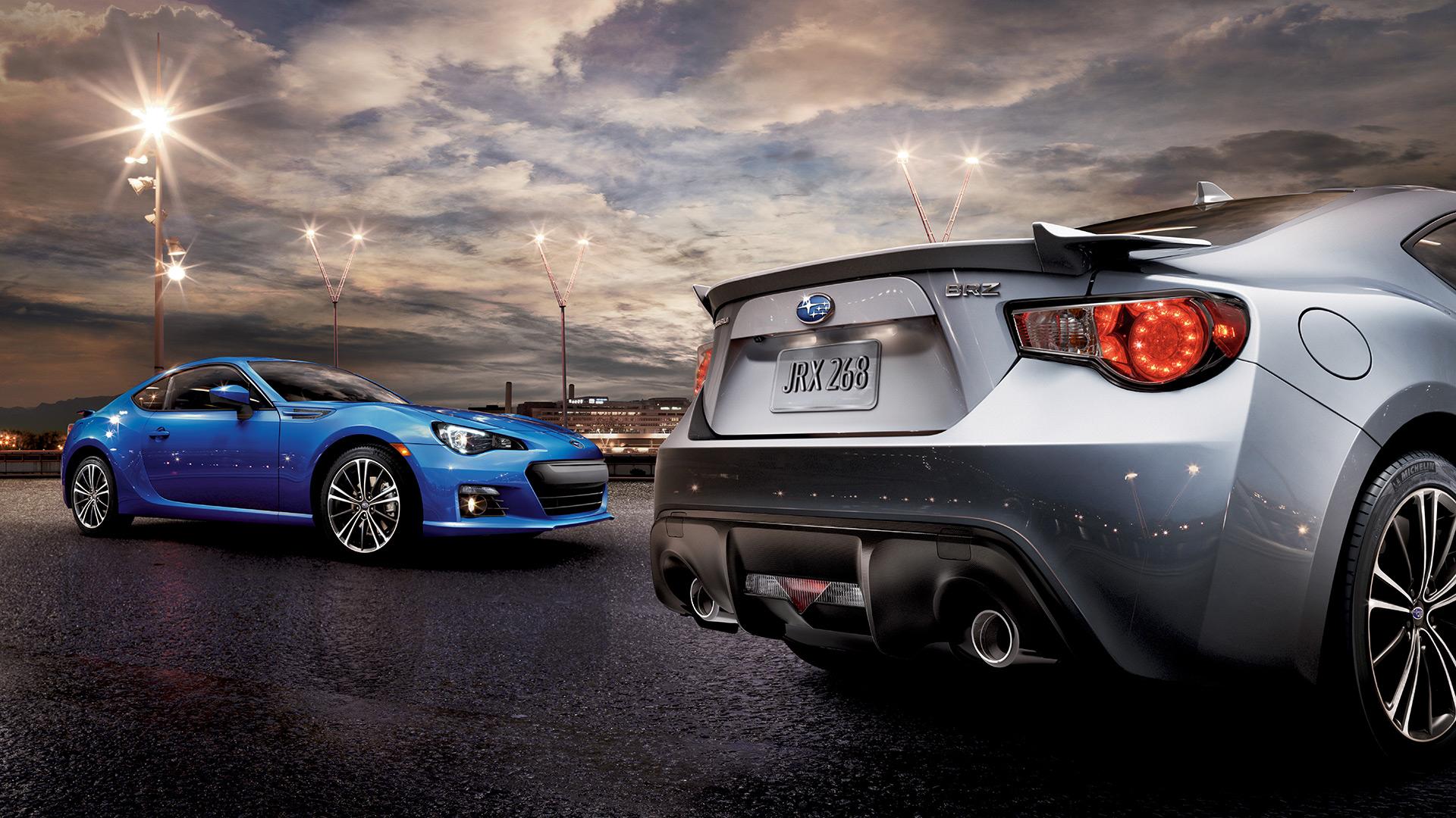 2016 Subaru BRZ | Wallpaper | Side of Road